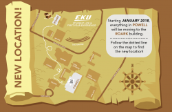 New Office Location Map, Student Life & FYE