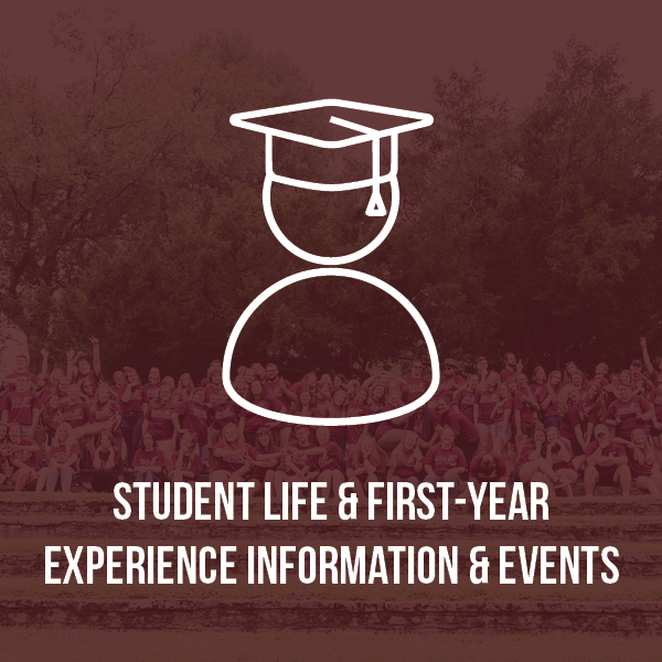 Student Life & First Year Information & Events